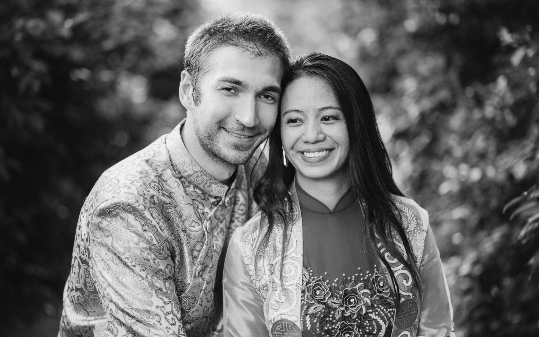 Cylburn Arboretum Engagement Session | Mai-Ly & Ken