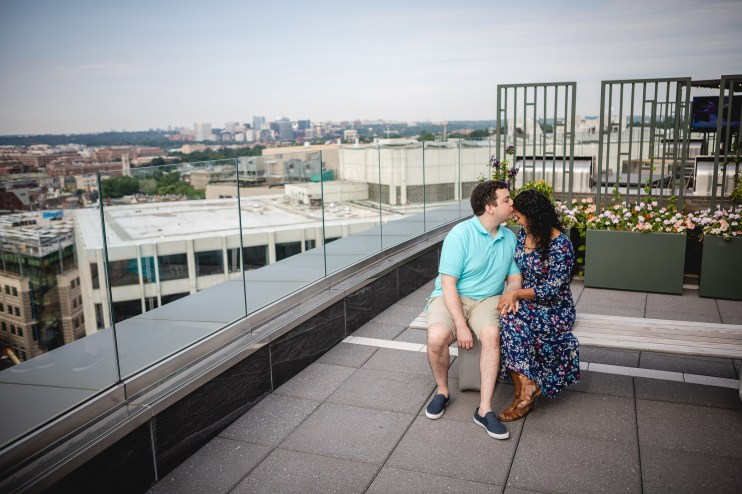 A Romantic Engagement Session from Felipe at The Kennedy Center in DC 02