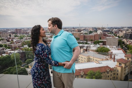 A Romantic Engagement Session from Felipe at The Kennedy Center in DC 04