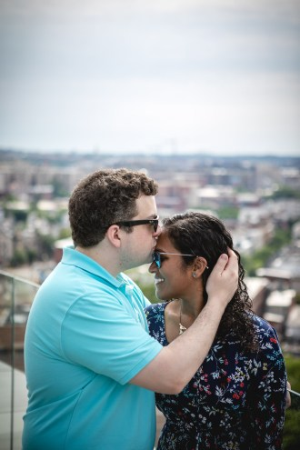 A Romantic Engagement Session from Felipe at The Kennedy Center in DC 09