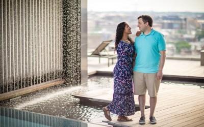 Kennedy Center Engagement Session | Aaron & Maariya