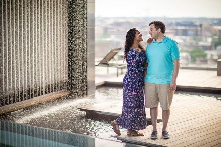 A Romantic Engagement Session from Felipe at The Kennedy Center in DC 10