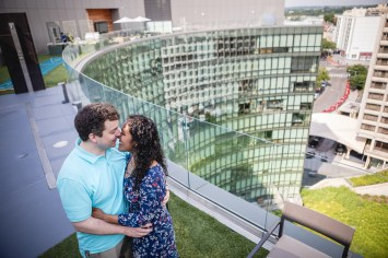 A Romantic Engagement Session from Felipe at The Kennedy Center in DC 12