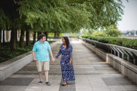 A Romantic Engagement Session from Felipe at The Kennedy Center in DC 15