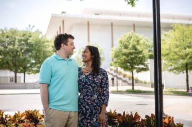 A Romantic Engagement Session from Felipe at The Kennedy Center in DC 24