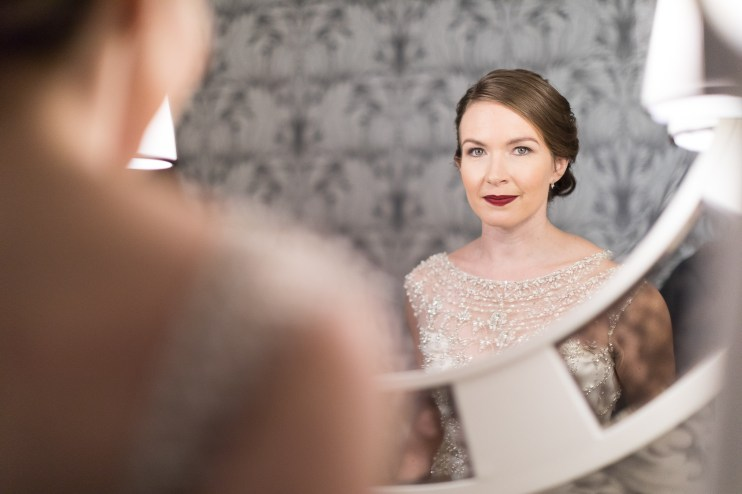 An Intimate September Wedding at The Loft at 600F & The National Portrait Gallery 09
