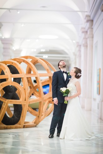 An Intimate September Wedding at The Loft at 600F & The National Portrait Gallery 21