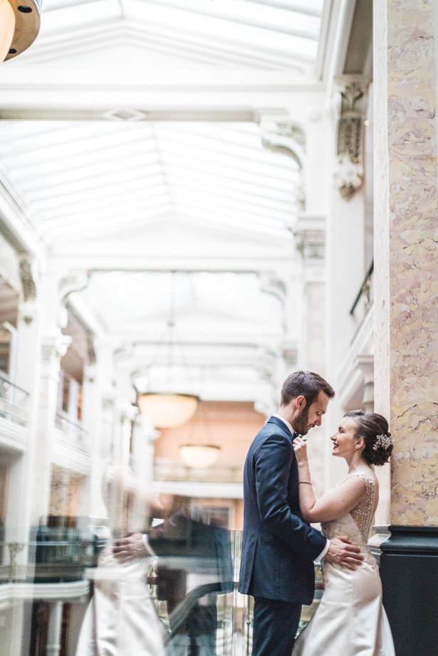 An Intimate September Wedding at The Loft at 600F & The National Portrait Gallery 25