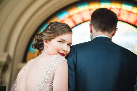 An Intimate September Wedding at The Loft at 600F & The National Portrait Gallery 31