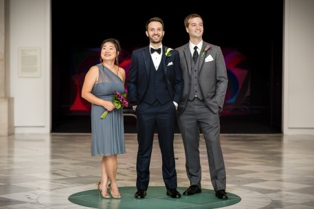 An Intimate September Wedding at The Loft at 600F & The National Portrait Gallery 38