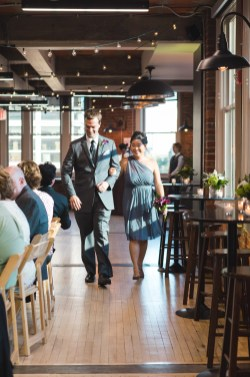 An Intimate September Wedding at The Loft at 600F & The National Portrait Gallery 45