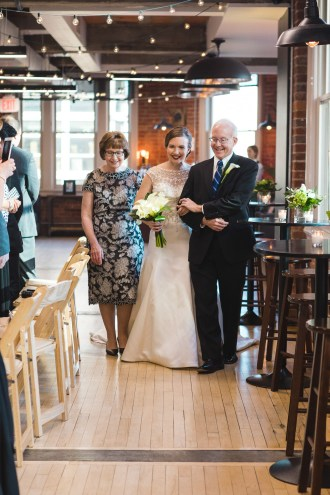 An Intimate September Wedding at The Loft at 600F & The National Portrait Gallery 49