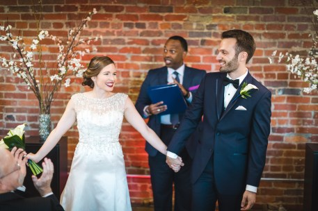 An Intimate September Wedding at The Loft at 600F & The National Portrait Gallery 60