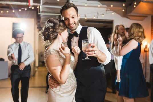 An Intimate September Wedding at The Loft at 600F & The National Portrait Gallery 96