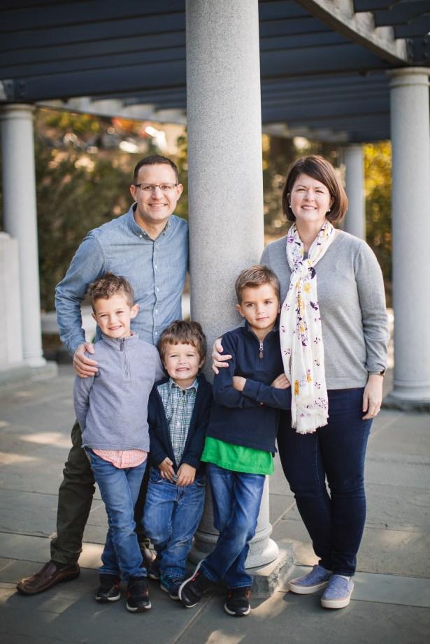 Tidal Basin Family Portraits Ross & Sarah's Family 13