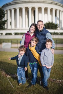 Tidal Basin Family Portraits Ross & Sarah's Family 20