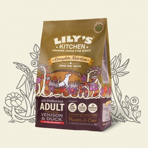 Lilys Kitchen Dog Adult Highland Venison Duck 7kg