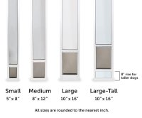 Pet Patio Door Panels | Sliding Door Dog Door Inserts ...