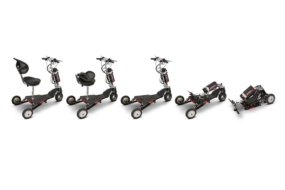 EW07 Folding Lightweight Airline Approved Scooter
