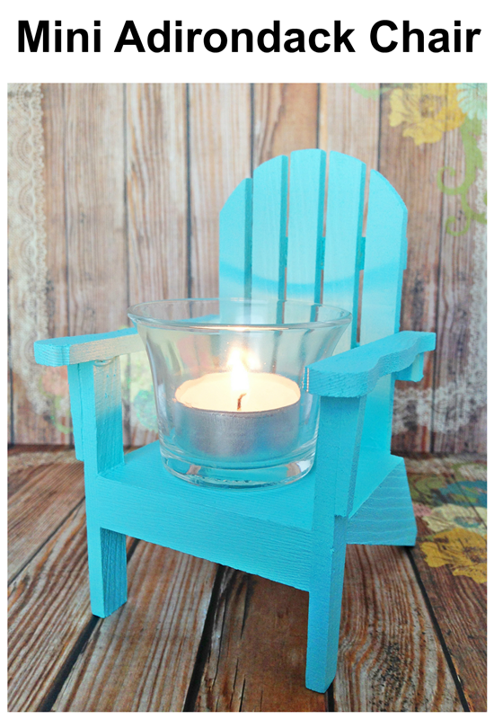 Mini Adirondack Chairs two ideas for your nautical decor
