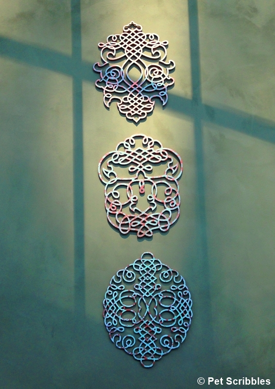 Metal Wall Art Copper Repousse Sculpture