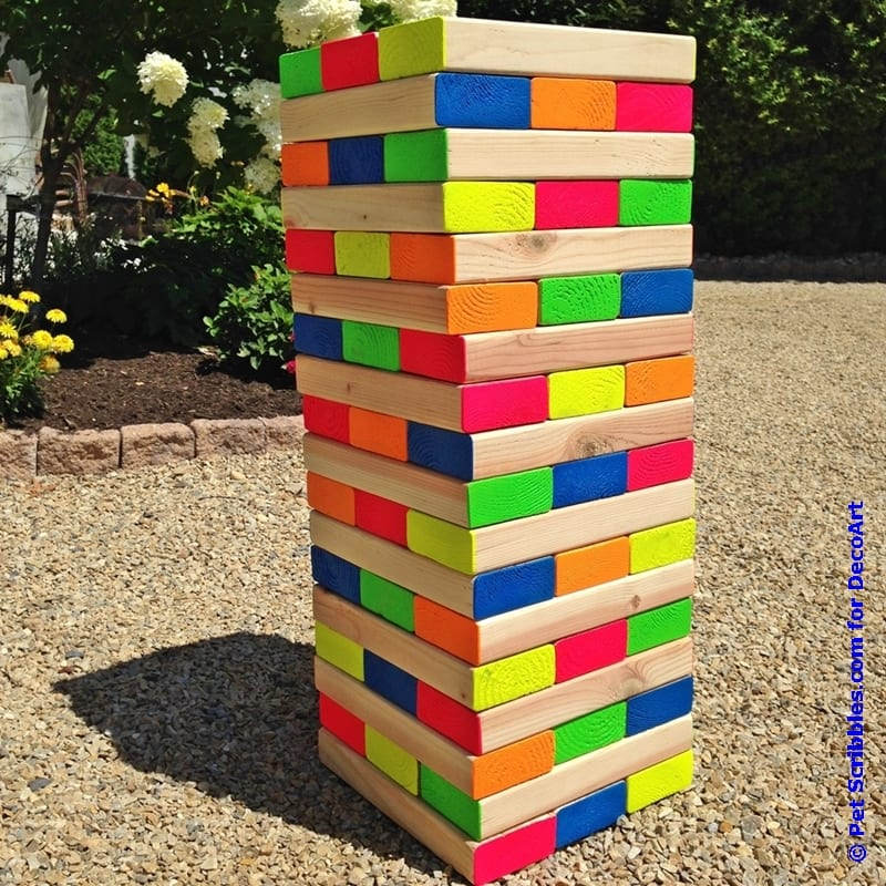 How To Make Jenga Blocks Out Of Paper
