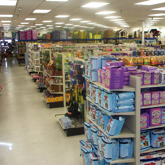 inside of Pets Plus San Clemente CA (Ocean View Plaza).