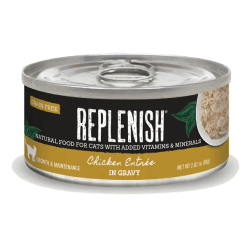 Replenish Chicken Entrée in Gravy Cat Can Food