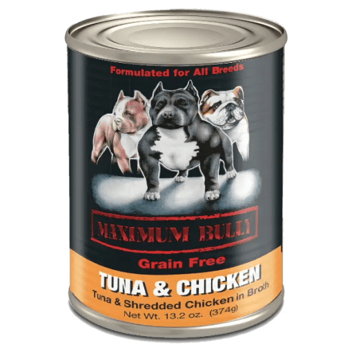 Maximum Bully Tuna and Chicken Can Dog Food