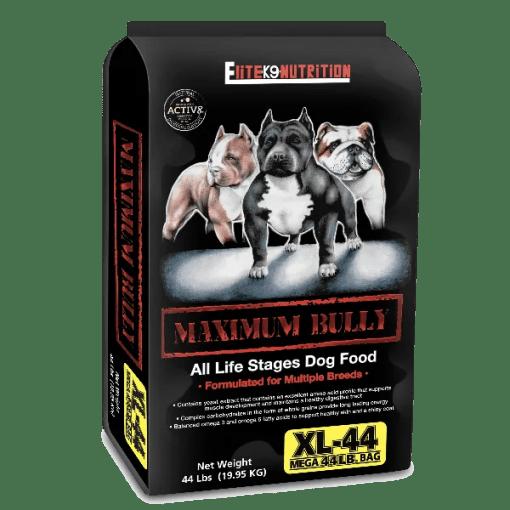 Maximum Bully Dry Dog Food.