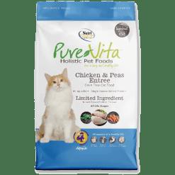 NutriSource Pure Vita Grain Free Cat Chicken Pea 6.6lb.