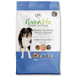 NutriSource Pure Vita Dog Grain Free Turkey Sweet Potato 5lb.