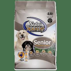 NutriSource Dog Senior Chicken Rice 30lb.