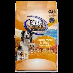 NutriSource Dog Lamb Rice 15lb.