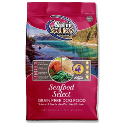 NutriSource Dog Food, Grain Free, Seafood Select.