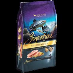 Zignature Catfish Dry Dog Food.
