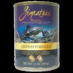 Zignature Canned Dog Food, Catfish.