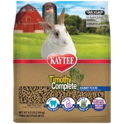 Kaytee Timothy Complete Rabbit Food 4.5lb.