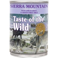 Taste Of The Wild Sierra Mountain Dog Can Food, 13-oz can. Case of 12.