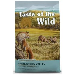 Taste of the Wild Appalachian Valley Small Breed Grain-Free Dry Dog Food.