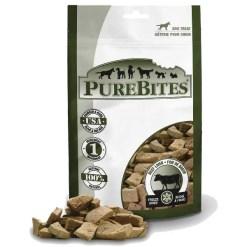 PureBites Beef Liver Freeze-Dried Raw Dog Treats, 4.2-oz Bag.