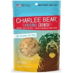 Charlee Bear Liver Flavor Dog Treats, 16-oz Bag.