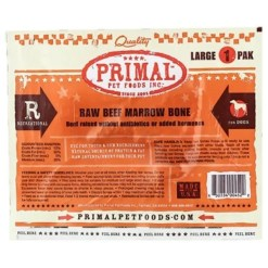 Primal Raw Frozen Beef Bone, Large.