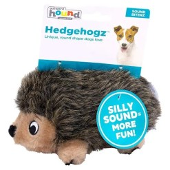Outward Hound HedgehogZ Squeaky Plush Dog Toy, Small.