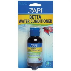 API Betta Aquarium Water Conditioner, 1.7-oz Bottle.