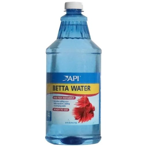 API Betta Aquarium Water Ready to Use, 31-oz bottle.