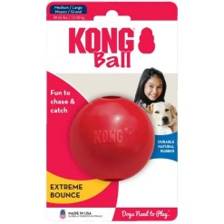 KONG Ball Dog Toy, MediumLarge.