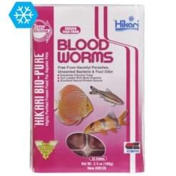 Hikari Frozen Bloodworm Cubes, 3.5-oz.