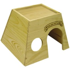 Kaytee Woodland Get-A-Way Small Animal House, Large.
