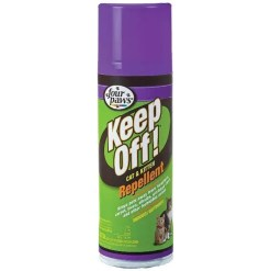 Four Paws Keep Off! Repellent Cat & Kitten, 6-oz Bottle.